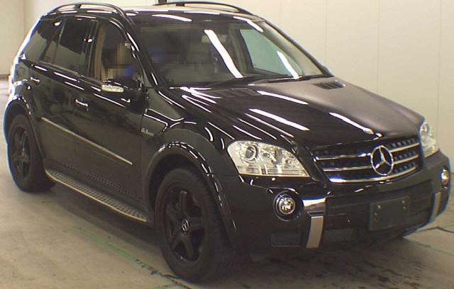 2012年9月(W164型モデル)メルセデスベンツ・Mクラス・ML63AMGのオークション落札相場