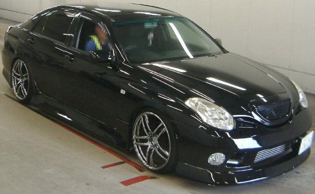 2012年9月純正5速マニュアルJZX110型ヴェロッサVR25のオークション落札相場