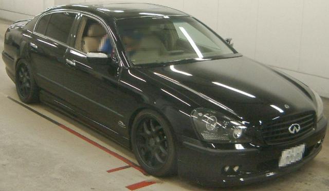 2012年9月4500ccV8(VK45)エンジンモデル日産シーマ(GF50型)のオークション落札相場
