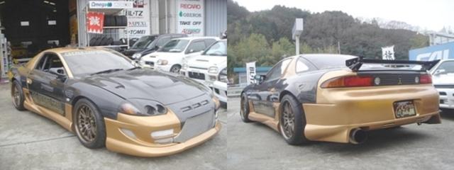 ピットロードMデモカー!1000馬力T88タービン三菱GTO(Z16A型)&1997年GDI・8代目ギャランのCM動画