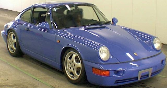 2012年9月(964型モデル)希少ポルシェ911カレラRSのオークション落札相場