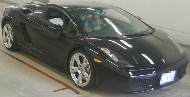 2012年9月2006年モデル!!ランボルギーニ・ガヤルドのオークション落札相場