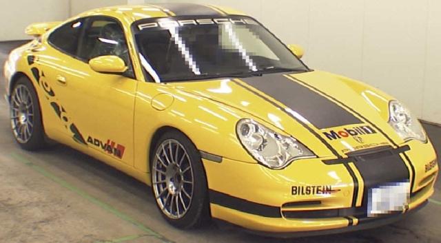 2012年9月(996系モデル)ポルシェ911カレラのオークション落札相場