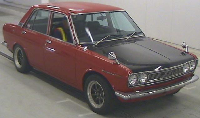 2012年9月(510系モデル)旧車ブルーバードSSSのオークション落札相場
