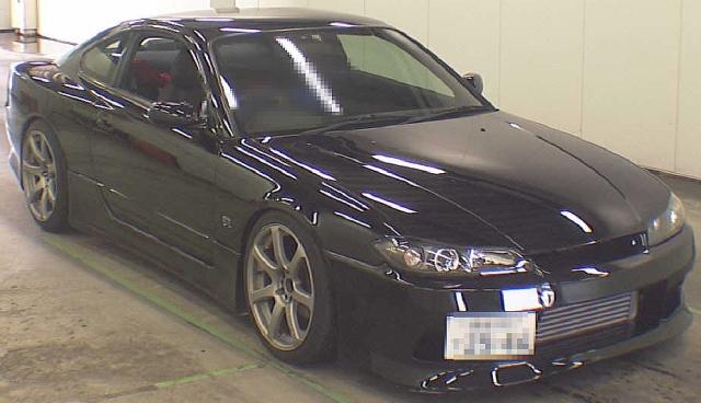2012年10月5速MTモデル!S15系シルビア・スペックRのオークション落札相場