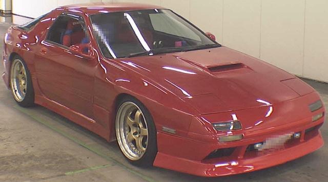 2012年10月キュウマル!サバンナRX-7・GT-X(FC3S)のオークション落札相場