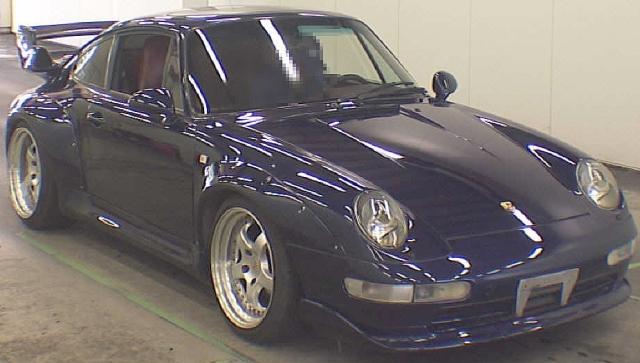2012年10月(993系モデル)ポルシェ911カレラのオークション落札相場
