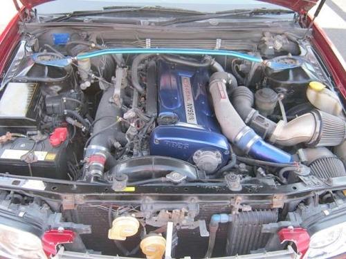 RB26DETTエンジン搭載ENR34スカイライン25GT・FOUR&RB26エンジン搭載C35系ローレル