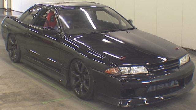 2012年11月R32型スカイラインGTS-T・タイプMのオークション落札相場