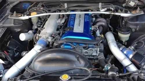 ブリスターボディ化!Y33系シーマ・41LV&SR20DETエンジン搭載C35ローレル