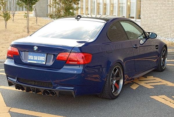 Gパワー製スーパーチャージャー搭載!!4代目BMW・M3(E92型)&2013年初日の出大黒PA街道レーサー動画
