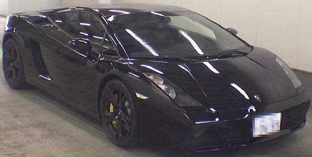 2012年11月輸入モデル!ランボルギーニ・ガヤルドのオークション落札相場