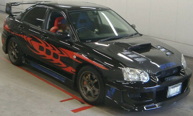 2012年11月GDB系モデル・インプレッサWRX・STI・LTDのオークション落札相場