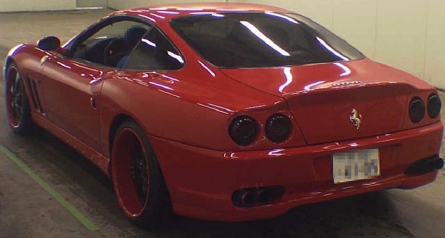 フェラーリ550マラネロ落札201211_ (2)
