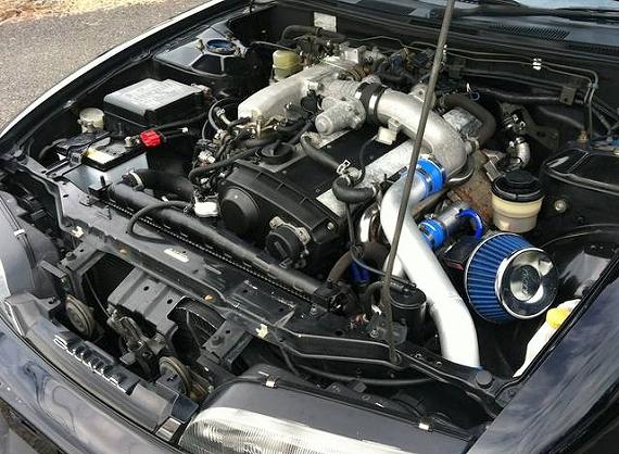 RB25エンジンスワップ前期S14シルビア20130123_4