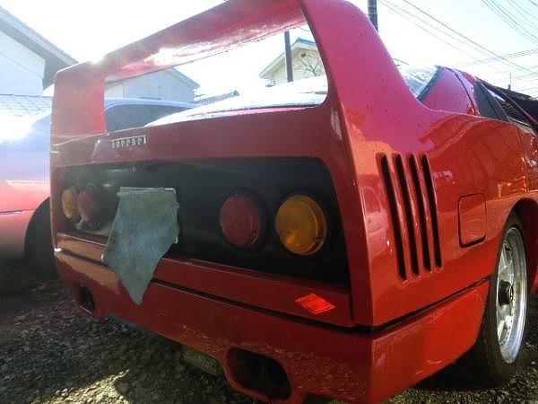 フェラーリF40レプリカ!RX-7(FC3S型)&痛車!いたぱIN館林の動画