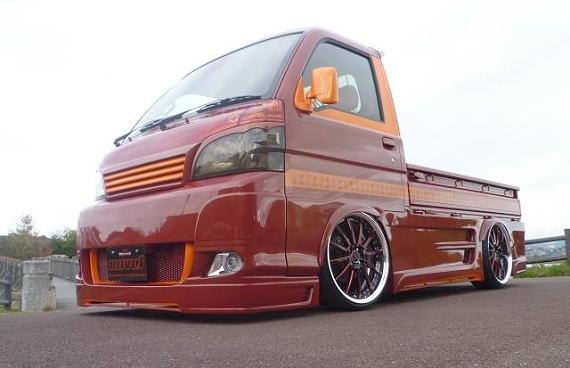 フルカスタムエアサスハイゼットトラック20130214_1