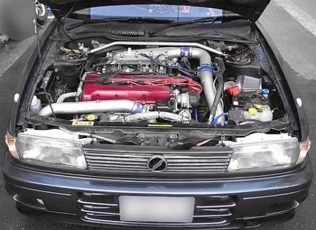 サーキット仕様・T88タービン・6MT化!!BCNR33型スカイラインGT-R&GTI-Rエンジン搭載!B13型サニー