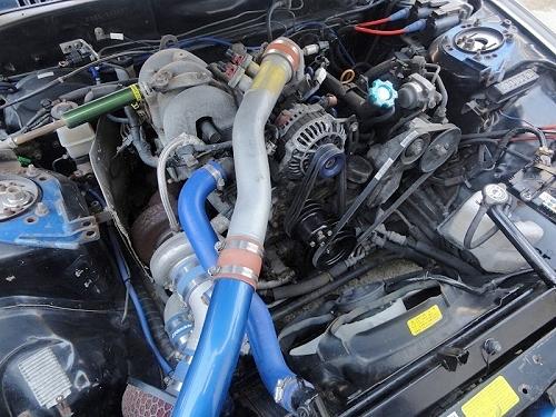 強化AT!ブレーキバランサー搭載!マツダRX-7(FD3S型)タイプRB&TD06タービンワイドボディ化FC3S型RX-7