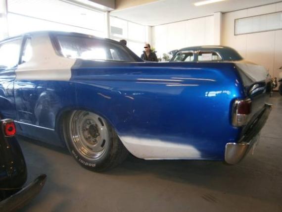 U620型ダットサン・ピックアップベース!名車エムカミーノ&V8エンジン搭載ボルボ740の動画