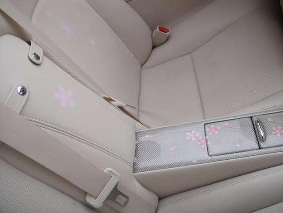 ピンク桜レクサスIS250Cコンバーチブル20130218_7