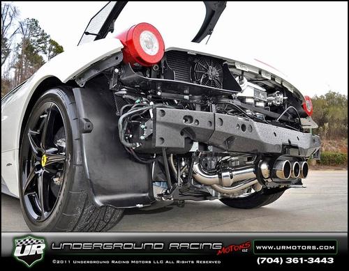 700馬力オーバー!フェラーリ458イタリア改ツインターボ&フェラーリ458・ツインターボ化の動画