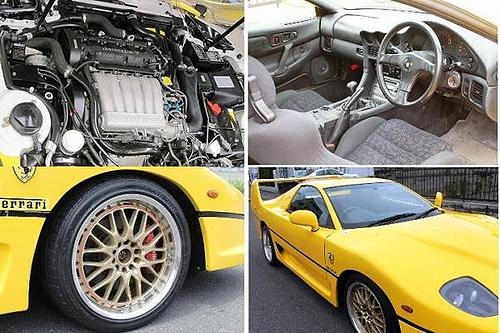三菱GTOベース!フェラーリF50レプリカ&フェラーリ・エンツォのレプリカ動画