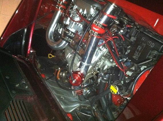 海外!FTOヘッドライト移植!トヨタMR2(SW20型)&1UZエンジン換装のセリカLB動画