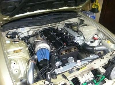 2JZエンジン換装240SX(S14)20130224_1