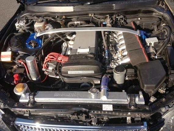 6連スロットル化2JZエンジン換装GXE10型アルテッツァ&HKS・IS220-Rのテスト走行動画
