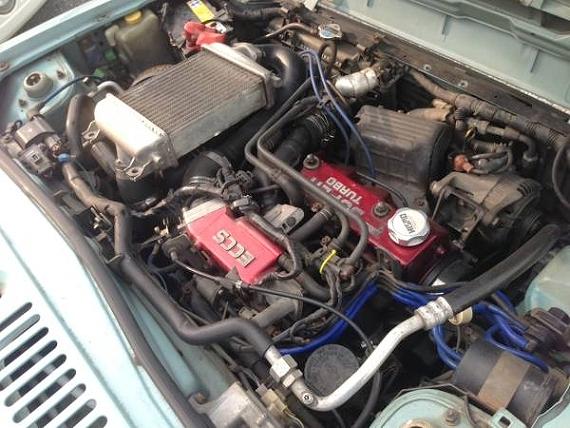 マーチスーパーターボエンジン換装!日産パオ(PK10型)&当時1989年・日産パオのCM動画