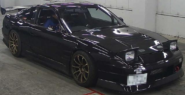 2013年1月ワイド化!RPS13系モデル日産180SX・タイプXのオークション落札相場