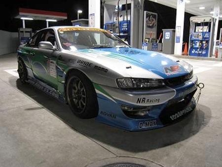 (2011年2月)D1SLマシン!フルタービン!S14型シルビア&4ローターエンジンスワップ!レクサスGS300(アリスト)の動画