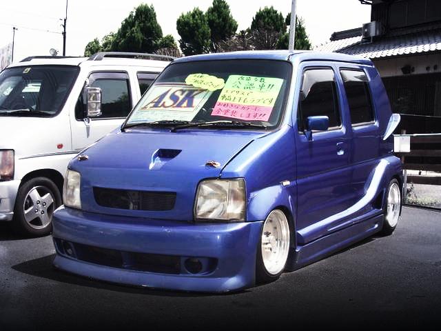 ワイドボディ公認!エアサス搭載!初代ワゴンR&旧車ミーティングIN広島の動画