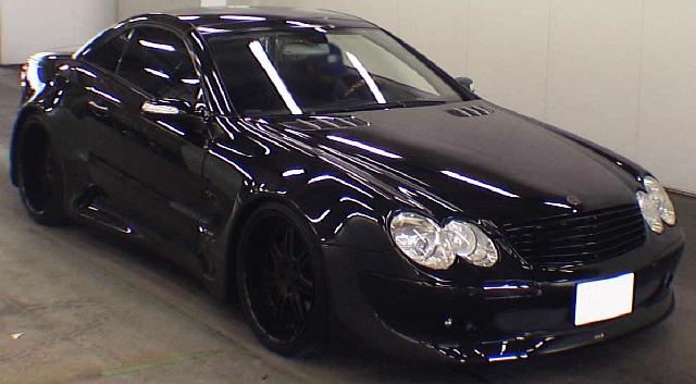 (2013年2月)ワイド仕様!!R230前期型メルセデスベンツSL600のオークション落札相場