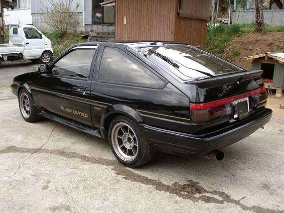 限定400台!ブラックリミテッド!!AE86型スプリンタートレノ&CRS製作200系ドリフトハイエースの動画
