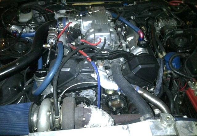 1UZエンジン換装JZA80スープラ20130411_2