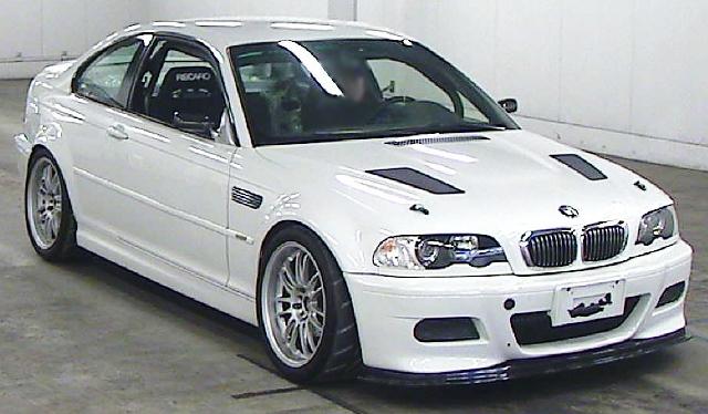 2013年2月E46系モデル6速MT!!BMW・M3のオークション落札相場