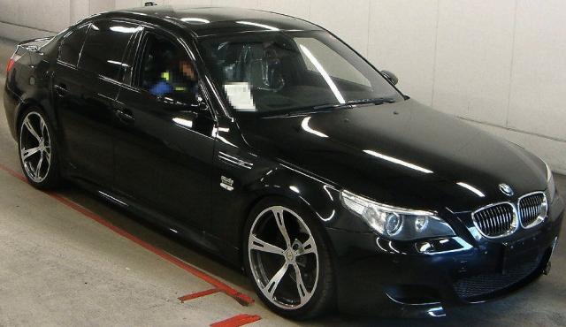 2013年1月E60型モデル!BMW・M5のオークション落札相場