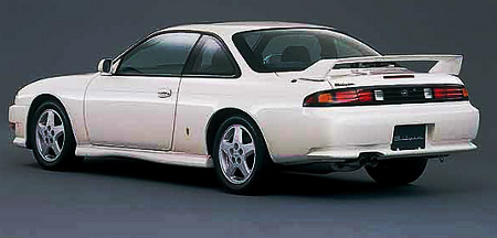 希少!国内販売!S14系モデル日産240SX&1995年日産240SXのCM動画