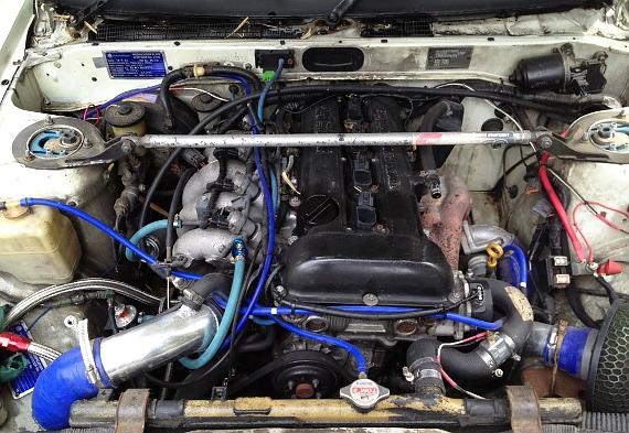 SR20エンジン換装AE86トレノ20130411_4