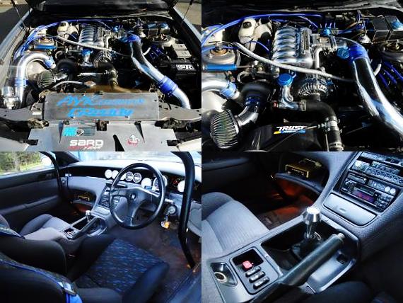 (2011年1月)700馬力!20Bフルチューン!ユーノスコスモ・タイプS&草ヒロ!初代アルトの静止画動画