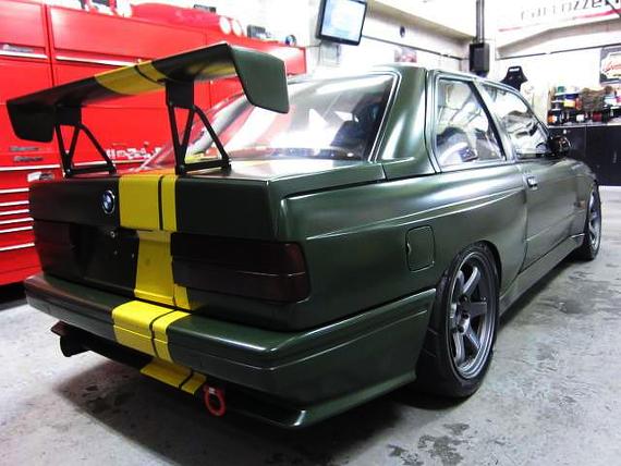 本気サーキット仕様!!限定車E30系BMW・M3スポーツエボリューション&V8型エンジンスワップE36系BMWの動画