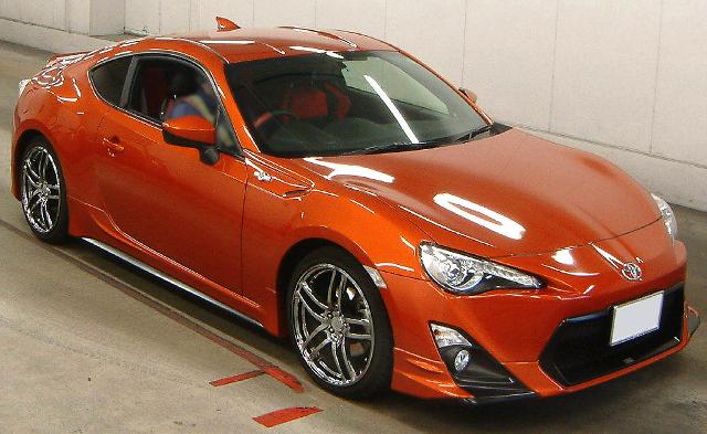 (2013年3月)6速マニュアルモデル!トヨタ86GTリミテッドのオークション落札相場