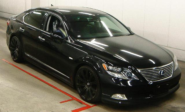 (2013年3月)ハイブリッド!高級車レクサスLS600Hのオークション落札相場