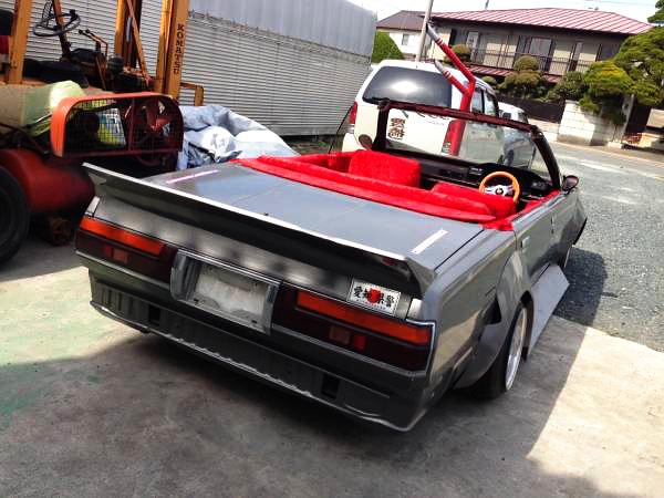 街道レーサー!ワンオフロングノーズ!GX71クレスタ&V8型LS1エンジン換装!A31系セフィーロの動画