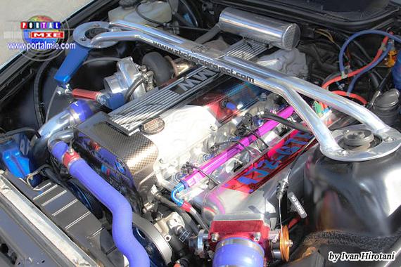 スポコン!JZX90用エンジン搭載!E36型モデルBMW&映画ザ・チェイスのPV動画