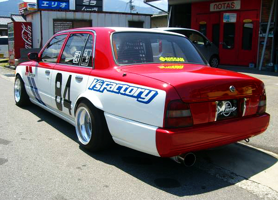 BREレーシングカラー!!SR20エンジン換装!日産クルー&BREダットサン510ブルの当時の動画