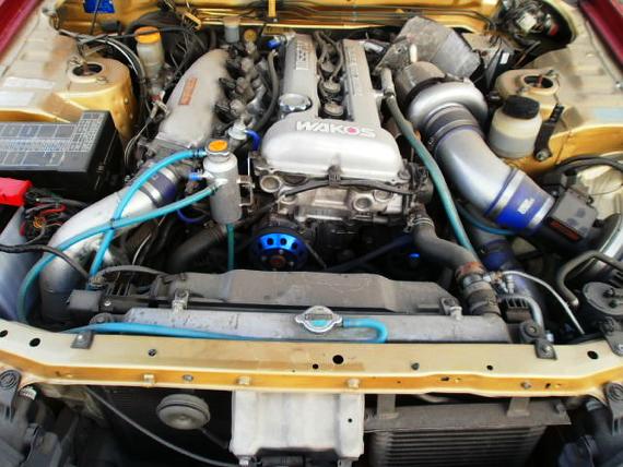 SR20エンジン社外タービンHR34スカイライン4ドア20130520_3