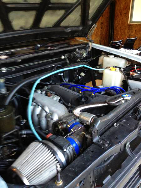 SR20DEエンジン換装D21ダットサントラック20130513_2